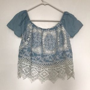 Lucy Paris: Summery Crochet Blouse